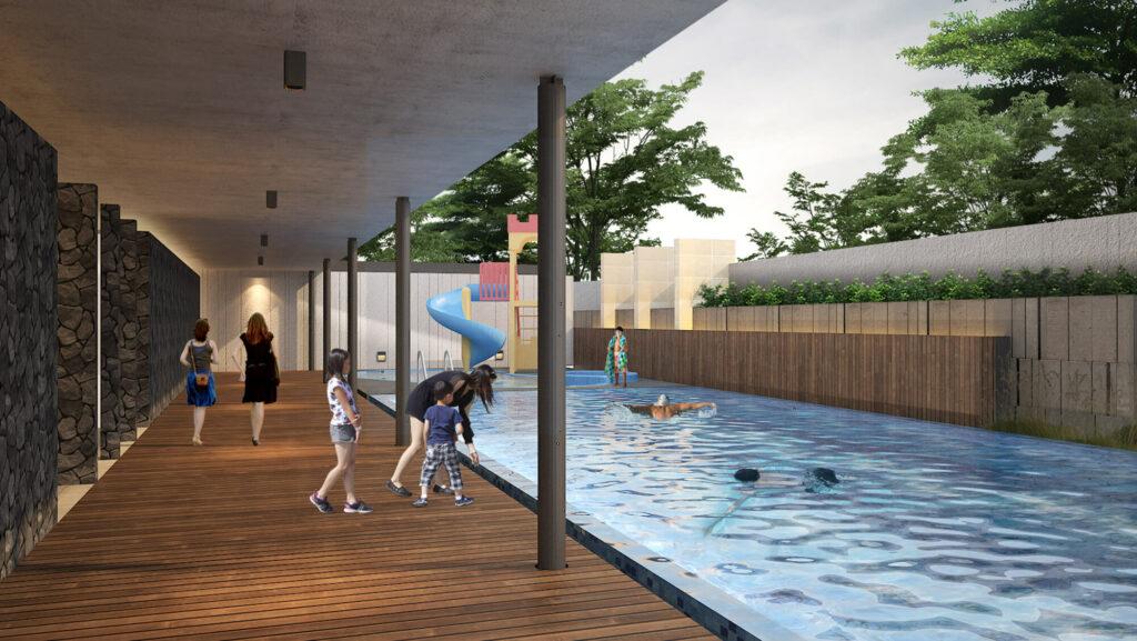 Img07 Club House and Swimming Pool Seruni Hills